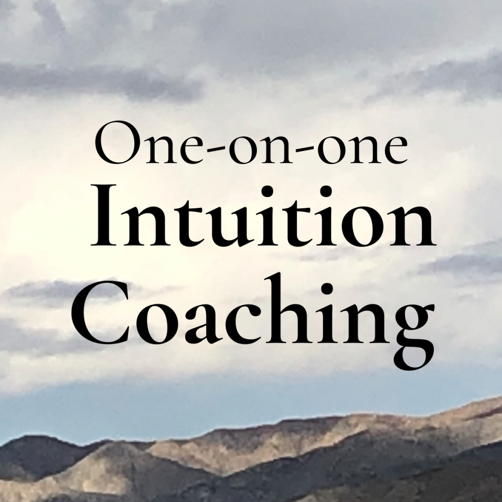 One-on-one Intuition Coaching